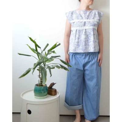 Pantaloni Palazzo • Jeans...
